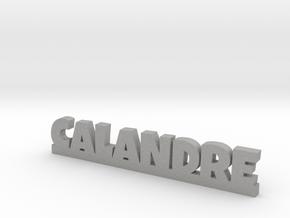 CALANDRE Lucky in Aluminum