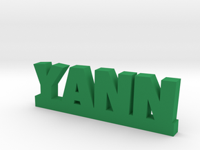 YANN Lucky in Green Strong & Flexible Polished