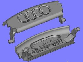 Audi A4 B6 Armrest lid with spring 4rings in Black Strong & Flexible