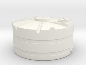 1/64 Scale 1000 Gallon Tank in White Natural Versatile Plastic
