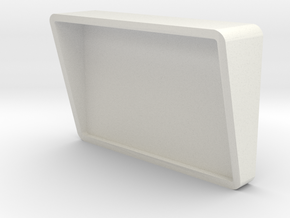 Sickbay Wall Monitor (Star Trek Classic), 1/18 in White Natural Versatile Plastic