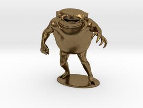 Umber Hulk Miniature in Natural Bronze: 1:60.96