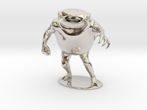 Umber Hulk Miniature in Rhodium Plated Brass: 1:60.96
