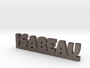 ISABEAU Lucky in Polished Bronzed Silver Steel