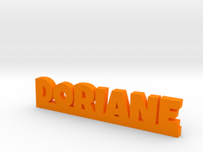 DORIANE Lucky in Orange Strong & Flexible Polished