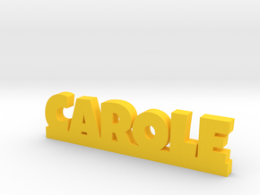 CAROLE Lucky in Yellow Strong & Flexible Polished