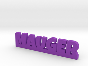 MAUGER Lucky in Purple Processed Versatile Plastic