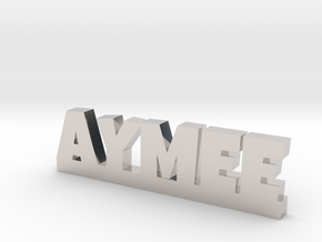 AYMEE Lucky in Rhodium Plated Brass