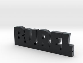 BUREL Lucky in Black Hi-Def Acrylate
