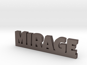 MIRAGE Lucky in Polished Bronzed Silver Steel