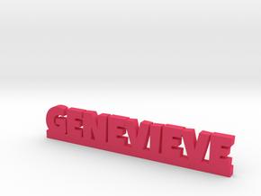 GENEVIEVE Lucky in Pink Processed Versatile Plastic