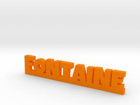 FONTAINE Lucky in Orange Processed Versatile Plastic