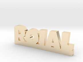 ROIAL Lucky in 14k Gold Plated Brass