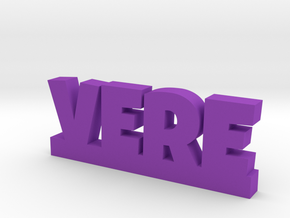 VERE Lucky in Purple Strong & Flexible Polished