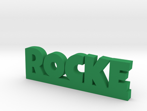 ROCKE Lucky in Green Strong & Flexible Polished