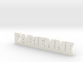 FABIENNE Lucky in White Strong & Flexible Polished