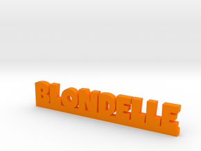 BLONDELLE Lucky in Orange Processed Versatile Plastic