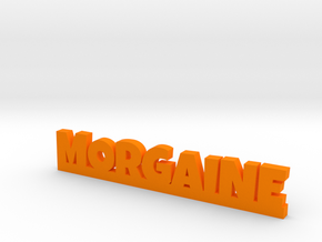 MORGAINE Lucky in Orange Strong & Flexible Polished