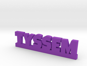 TYSSEM Lucky in Purple Strong & Flexible Polished