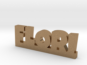 FLORI Lucky in Natural Brass