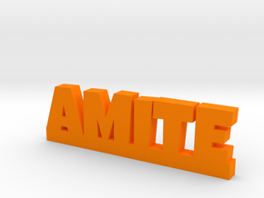 AMITE Lucky in Orange Strong & Flexible Polished