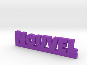 NOUVEL Lucky in Purple Processed Versatile Plastic
