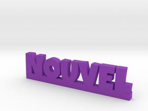 NOUVEL Lucky in Purple Processed Versatile Plastic
