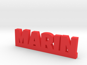 MARIN Lucky in Red Processed Versatile Plastic