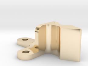 Roller Grab Latch Pt3 in 14k Gold Plated Brass