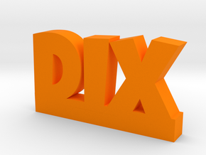 DIX Lucky in Orange Strong & Flexible Polished
