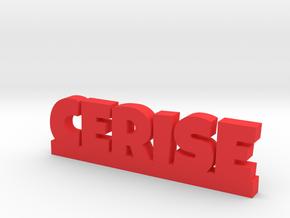 CERISE Lucky in Red Processed Versatile Plastic