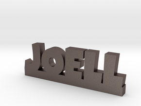 JOELL Lucky in Polished Bronzed Silver Steel