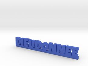 DIEUDONNEE Lucky in Blue Processed Versatile Plastic