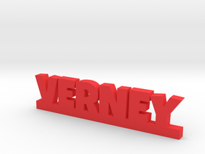 VERNEY Lucky in Red Processed Versatile Plastic