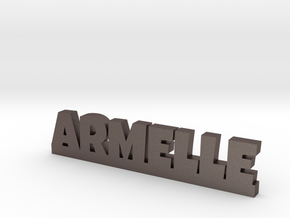 ARMELLE Lucky in Polished Bronzed Silver Steel