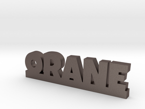 ORANE Lucky in Polished Bronzed Silver Steel
