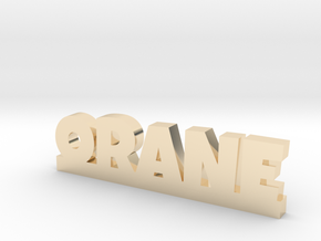 ORANE Lucky in 14k Gold Plated Brass