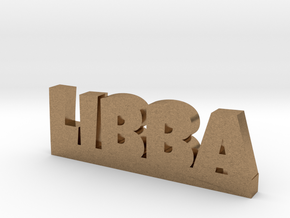 LIBBA Lucky in Natural Brass