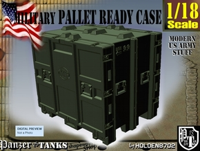 1-18 MM08 Pallet Ready Case in Green Processed Versatile Plastic