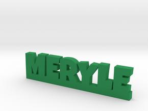 MERYLE Lucky in Green Processed Versatile Plastic