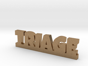 TRIAGE Lucky in Natural Brass