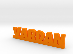 VARDAN Lucky in Orange Strong & Flexible Polished