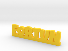 FORTUN Lucky in Yellow Strong & Flexible Polished
