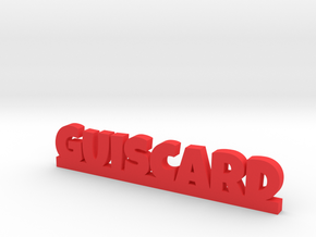 GUISCARD Lucky in Red Processed Versatile Plastic