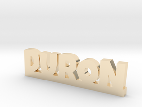 DURON Lucky in 14k Gold Plated Brass