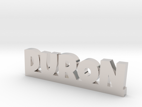 DURON Lucky in Rhodium Plated Brass