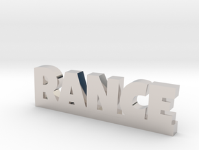 RANCE Lucky in Rhodium Plated Brass