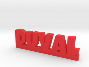 DUVAL Lucky in Red Processed Versatile Plastic