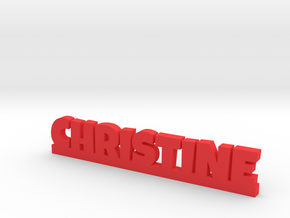 CHRISTINE Lucky in Red Processed Versatile Plastic