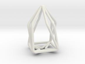 House Enmotion Pendant in White Natural Versatile Plastic